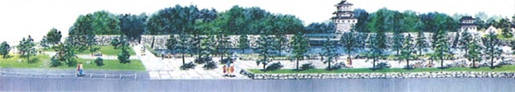 玉藻公園将来図